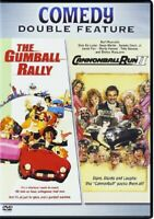 THE GUMBALL RALLY + CANNONBALL RUN II 2 ✨✨✨NEW DVD✨✨✨