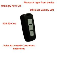 Key FOB Voice Activated Spy Covert Security Body Audio Voice Recording Device
