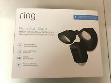 Genuine Ring Floodlight Cam Black In Box