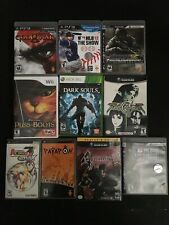 Lot of PS3, PSP, Gamecube, Wii, Xbox 360 Games