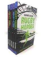 Gerard Siggins Rugby Heroes Series Collection 5 Books Set