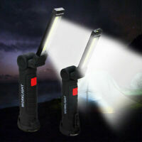 Car USB COB LED Magnetic Work Light Car Garage Mechanic Home Rechargeable Torch