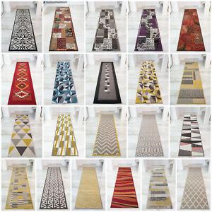 Modern Carpet Runner Rugs Soft Long Narrow Hallway Runner Easy Clean Bedside Mat