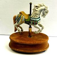 Vintage Willitts Inc. Melodies Memory Carousel Horse 1984 NOT WORKING