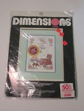 Dimensions Baby Gifts Birth Record Kit