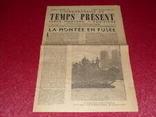 """[PRENSA WW2 39-45] """"TEMPS AHORA - SEMANAL"""" # 2 / 1er SEPTIEMBRE 1944"""