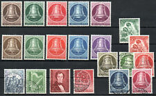 GERMANY , BERLIN , nice lot old stamps including BELL of FREEDOM , MNH / USED