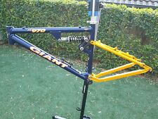Vintage Retro GIANT ATX 970 Dual Suspension MTB Frame from the 90's Small