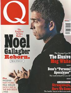 Q MUSIC MAGAZINE THE EMPEROR STRIKES BACK NOEL GALLAGHER REBORN DEC. 2017