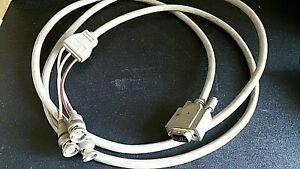 Hewlett Packard HP C2300-60005 Cavo video a colori  RGB da 2 m da 15 pin maschio