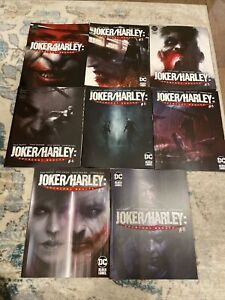 DC Black label : Joker /Harley : Criminal Sanity # 1-8 , First Prints