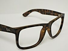 Authentic Ray-Ban Justin RB 4165 710/13 Matte Tortoise Sunglasses Frame $188