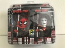 NECA SCALERS SPIDERMAN IRON MAN SDCC EXCLUSIVE 2 PACK TOY FIGURE
