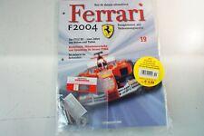 Kyosho DeAgostini Kit Ferrari F2004 / F1-04019 mit Heft OVP Ausgabe Nr.19