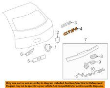 Cadillac GM OEM 08-14 CTS Trunk Lid-Emblem Badge Nameplate 25789084
