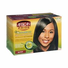 African Pride Olive Miracle Deep Conditioning Relaxer, Super (6 Pack)