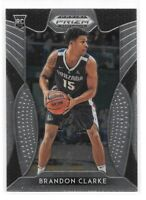 Brandon Clarke Rookie 2019-20 Prizm Draft Picks #86 Gonzaga Memphis Grizzlies RC