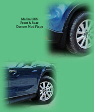 set 0f 4 Mazda CX-5 custom Front & Rear Mud Flaps 2012-2016 new