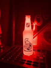 NHL Ottawa Senators Hockey 12 oz Beer Bottle Light LED Bar Man Cave