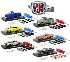 1:64 M2 Machines *AUTO-WHEELS 4* SET of 6 CARS *CHANCE AT CHASE CAR* NIP!