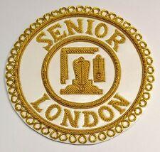 🇬🇧 London Senior Rank Apron Badge. Uk stock.