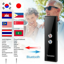 More details for portable 68 multi-languages two-way real time smart translator voice instant uk!