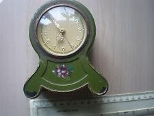 Vintage GERMAN tin mantel clock