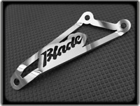 Exhaust Hanger for HONDA CBR954RR FIREBLADE - 02 to 03 - Polished - CBR 954 RR