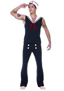 Mens Deckhand Sailor Costume