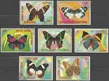 Timbres Papillons Guinée équatoriale 104/PA88 o lot 22290