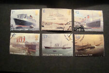 GB 2004  Commemorative Stamps~Ocean Liners~Fine Used Set~UK Seller