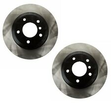 BMW E82 E88 135i 2008-2013 Pair Set Of 2 Rear Disc Brake Rotors OPparts 40506202