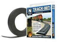 Woodland Scenics ST1475 N Scale 3mm Track-Bed 24' Continuous Roll