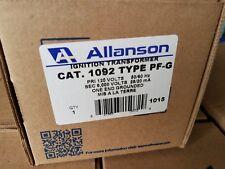 Allanson  1092 type PF-G Ignition transformer