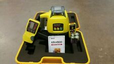 New Self Leveling Rotary Laser Level Koiss Kr H500 Detectorreceiver Remote