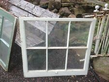 VTG 6 Pane Wooden  Window sash farm  Glass Pinterest DIY primitive frame