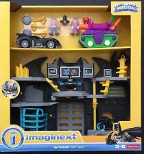 NIB Fisher Price Imaginext DC Super Friends Batman Batcave Set