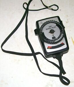GOSSEN SBC SUPER PILOT Vintage Hand Held Camera Light Exposure Meter - CHEAP.