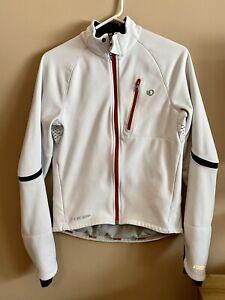 Pearl Izumi PRO Softshell Jacket, Small, White/Red