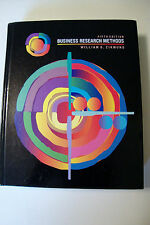 Business Research Methods by William G. Zikmund 5Th Edition (1996, Hardcover)