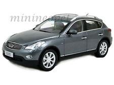 PAUDI 5507 2012 12 INFINITI EX25 EX 25 SUV 1/18 DIECAST GREY
