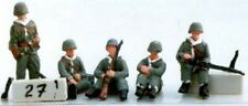 Milicast FIG027 1/76 Resin WWII US Figures in Winter Clothing (Tank Riders,Etc.)