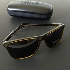 DKNY Women's DY4127 Square Wayfarer Sunglasses Olive Green 58mm NWT Case