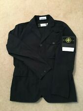 Stone Island DAVID TELA LIGHT-TC Blazer in Navy Blue. Size Medium. BNWT
