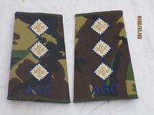 Rango cinghie: capitano, Adjutant Generale corpo d'armata, capitano, AGC