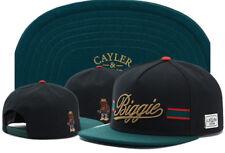 Hip Hop Men's CAYLER Sons Cap adjustable Baseball Snapback Street Black Hat 496#