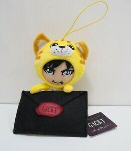 GACKT Gakucchi Love Letter Envelope Furyu Mascot Strap Plush Toy Doll Japan