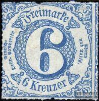 Thurn und Taxis 43IA postfrisch 1865 Ziffer