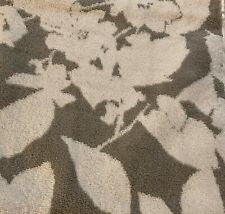 NWT Ralph Lauren Sanders Floral  Wash Cloth Gorgeous ~ Grey & White