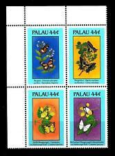 PALAU - 1987 - Flora e fauna. Farfalle e fiori (I) - (D)